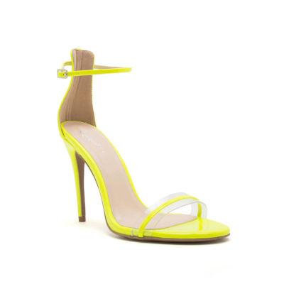Qupid Womens Diti-02ax Heeled Sandals