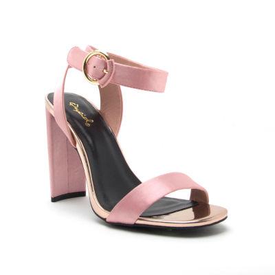 Qupid Womens Elsi-04 Heeled Sandals