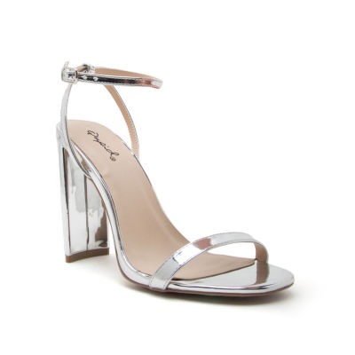 Qupid Womens Elsi-15 Heeled Sandals