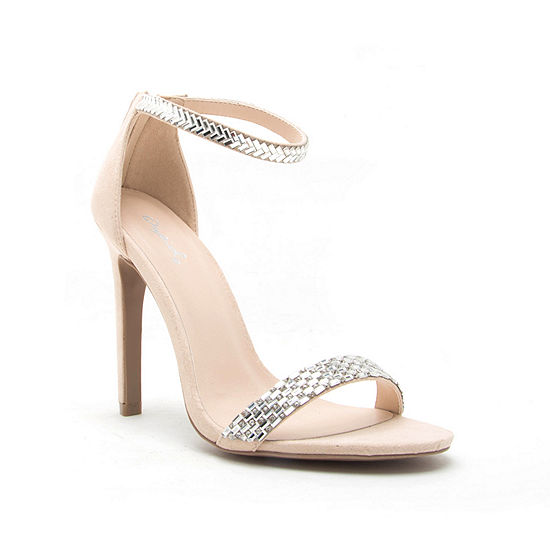 Qupid Womens Ines-18a Heeled Sandals
