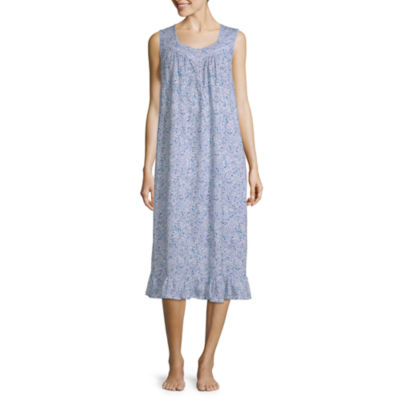 Adonna Womens Jersey Nightgown Sleeveless Sweetheart Neck