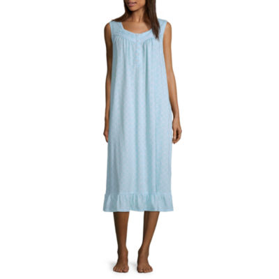 Adonna Womens Nightgown Sleeveless Sweetheart Neck