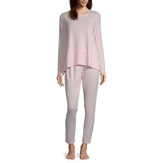 Liz Claiborne® Women's Peplum Pajama Set