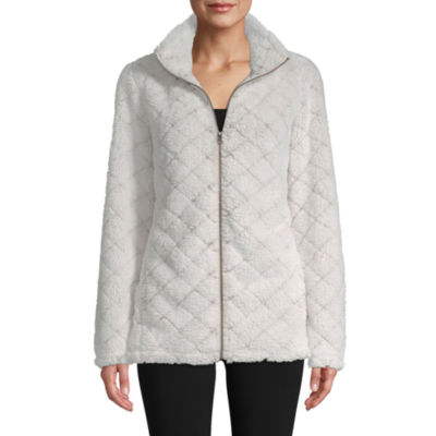 St. John's Bay Active Plush Quilted Jacket - Tall