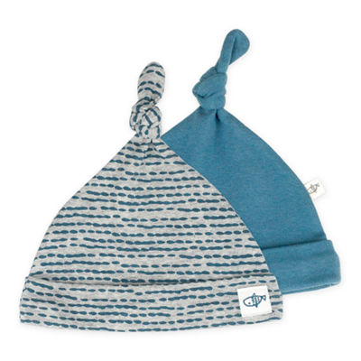 Mac And Moon 2-Pk Cap Set - Baby Boys Boys 2-pc. Baby Hat-Baby