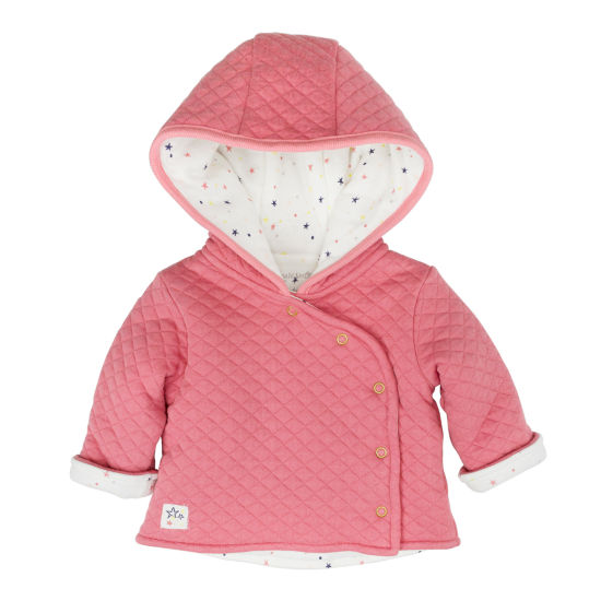 Mac And Moon Girls Hooded Jacket Girls Midweight Field Jacket-Baby