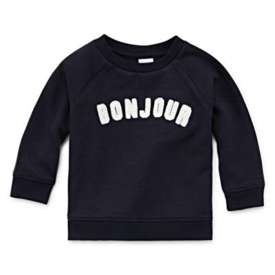 Peyton & Parker Unisex Round Neck Long Sleeve Sweatshirt- Baby