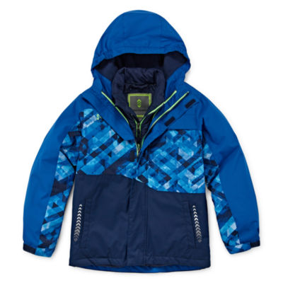 Free Country Boys Heavyweight 3-In-1 System Jacket-Big Kid