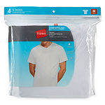 Hanes Comfortblend 4 Pack Short Sleeve V Neck T-Shirt
