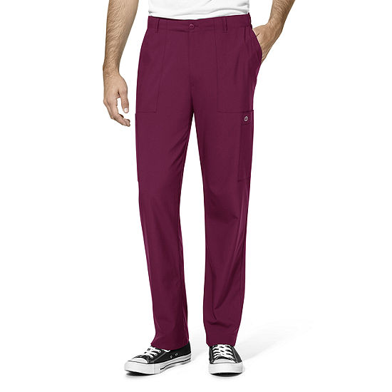 W123 by WonderWink® 5355 - Men's Flat Front Cargo Pocket Pants - Short