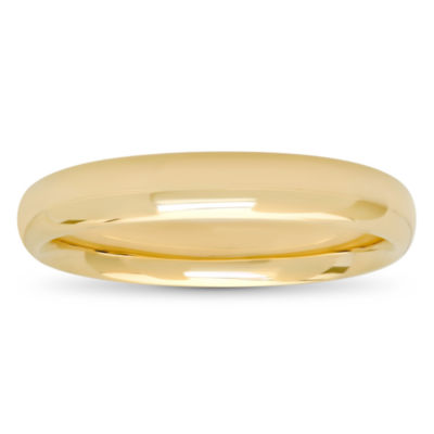 Men's 10K Gold 4mm Wedding Band