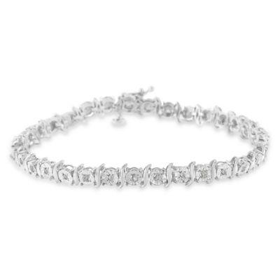 Sterling Silver 7 Inch Solid Id Bracelet