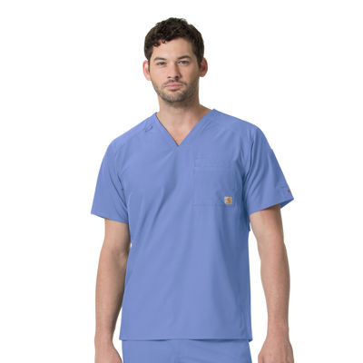 Carhartt Liberty C15106X  V-Neck Men's Scrub Top-Big
