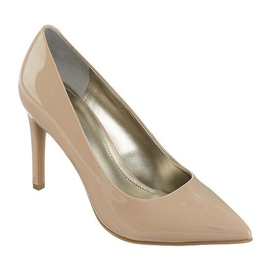 Worthington Womens Zoe Pointed Toe Stiletto Heel Pumps