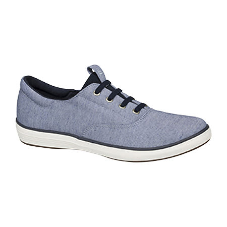 Grasshoppers Womens Janey II Slip-On Shoes, 9 1/2 Medium, Blue