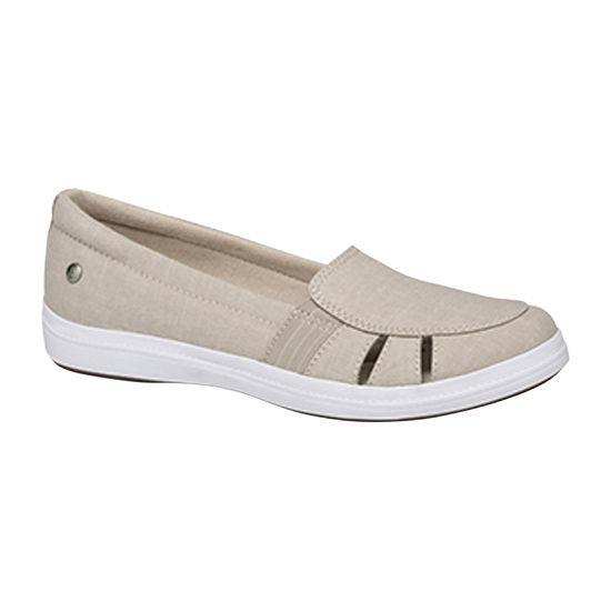 Grasshoppers Womens Janis Round Toe Slip-On Shoe
