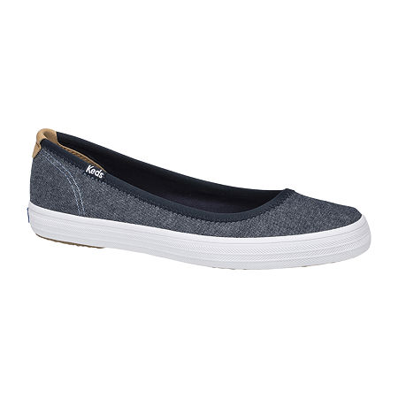 Keds Womens Bryn Slip-On Shoe, 5 1/2 Medium, Blue