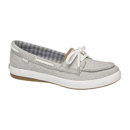 Keds Charter Slip-On Shoes, 5 Medium, Gray