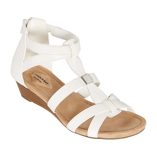 St. John's Bay Womens Nabran Wedge Sandals