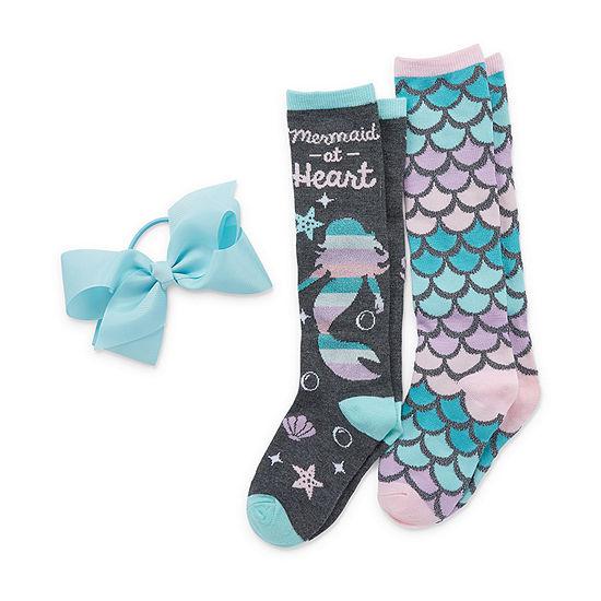Capelli of N.Y. Big Girls 2 Pair Knee High Socks