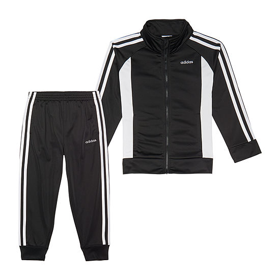adidas Girls 2-pc. Logo Track Suit - Preschool