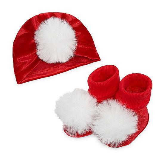 Okie Dokie Christmas Girls 2-pc. Baby Hat