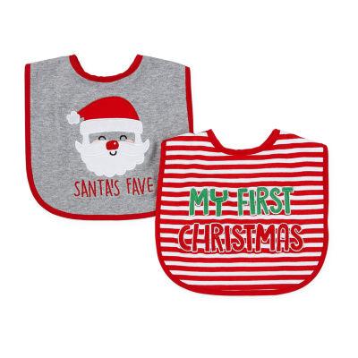 Okie Dokie Christmas Unisex 2-pc. Bib