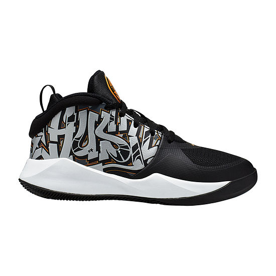 Nike Team Hustle D9 Boys Big Kids Basketball Shoes