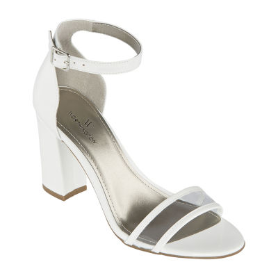 Worthington Womens Battery Heeled Sandals