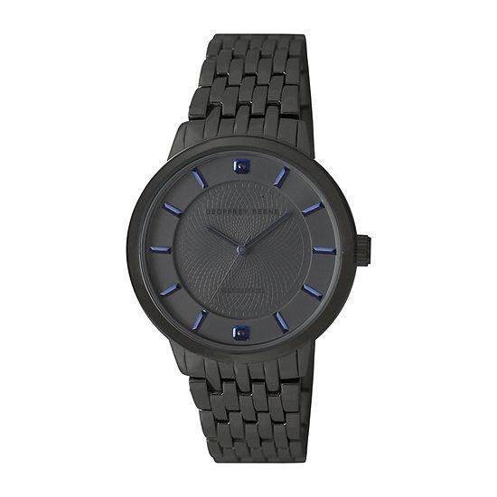 Geoffrey Beene Blue Sapphire Mens Bracelet Watch - Gb8175gu