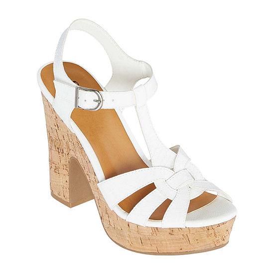 a.n.a Womens Vicksburg Heeled Sandals