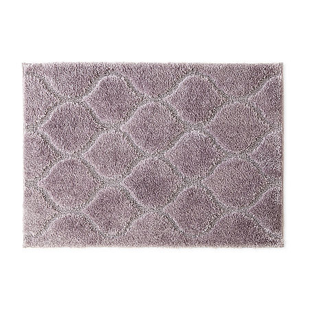 JCPenney Home Bri Bath Rug Collection, One Size , Purple