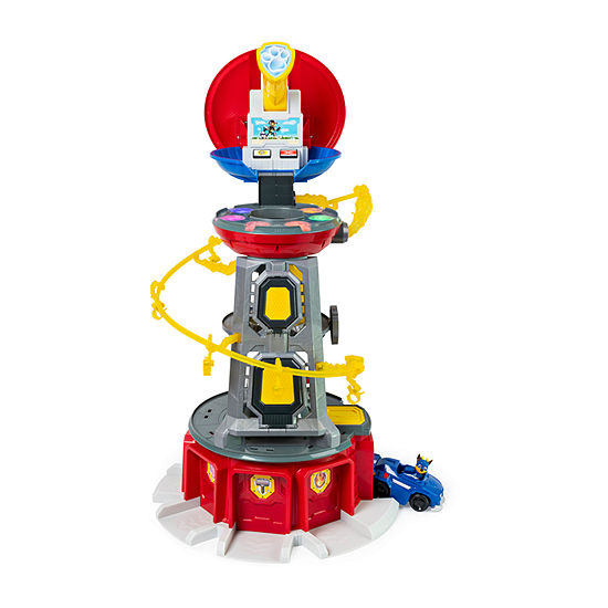 Mighty Pups Super S Lookout Tower Playset With Lights And Sounds For Ages 3 And Up