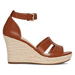 Liz Claiborne Womens Maderia Wedge Sandals