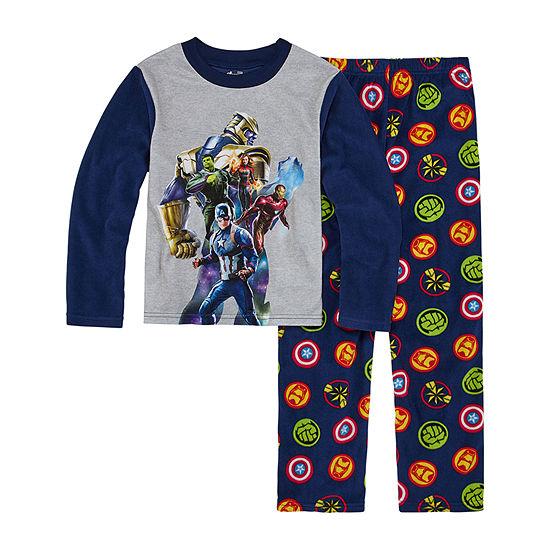 Avengers Boys 2-pc. Avengers Pant Pajama Set Preschool / Big Kid
