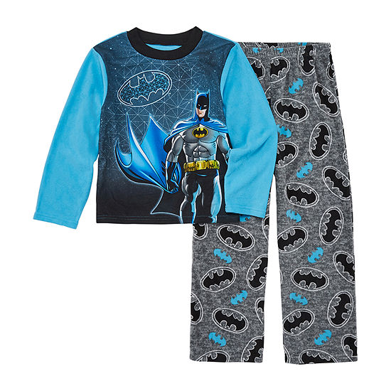 Boys 2-pc. Batman Pant Pajama Set Preschool / Big Kid