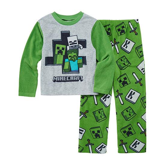 Boys 2-pc. Minecraft Pant Pajama Set Preschool / Big Kid