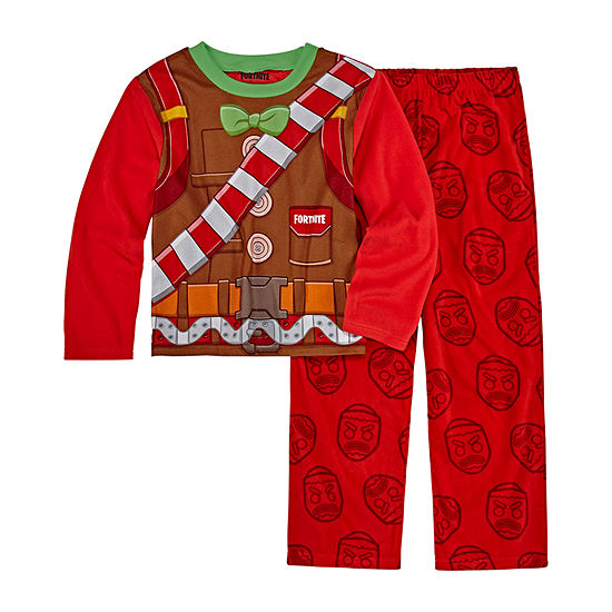 Little Kid / Big Kid Boys 2-pc. Fortnite Pant Pajama Set