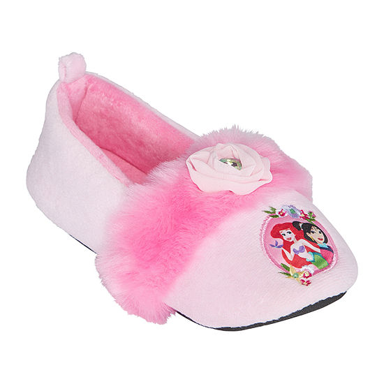 Disney Girls Princess Slip-On Slippers