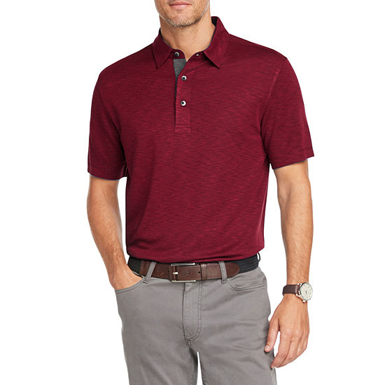 Van Heusen Mens Short Sleeve Air Polo Shirt