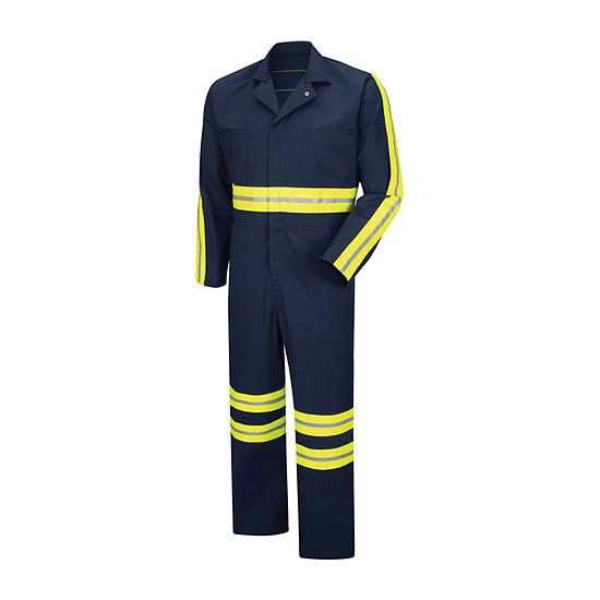 Red Kap CT10EN Enhanced Visibility Action Back Coverall