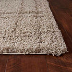 Kas Grid Rectangular Indoor Rugs