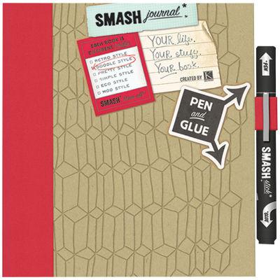 Doodle Red SMASH Folio