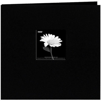 """Book Cloth Cover Album With Window 8 X 8"""""""