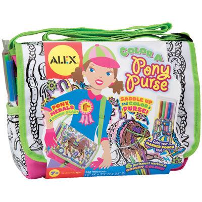 ALEX TOYS® Color A Pony Purse Kit