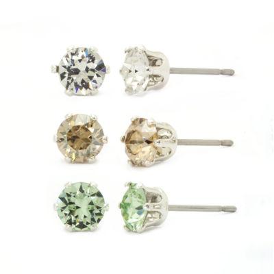 Sparkle Allure Stud Earrings