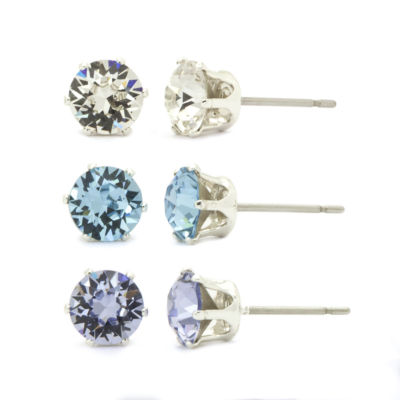 City X City Crystal Stud Earrings