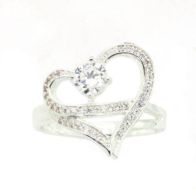 Sparkle Allure Womens Heart