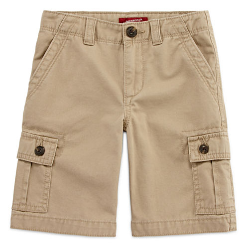 Arizona Original Fit Twill Cargo Shorts - Preschool Boys
