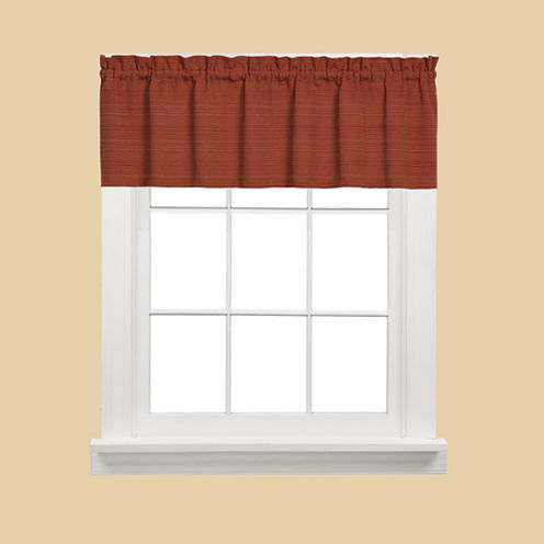 Saturday Knight Austin Rod-Pocket Tailored Valance